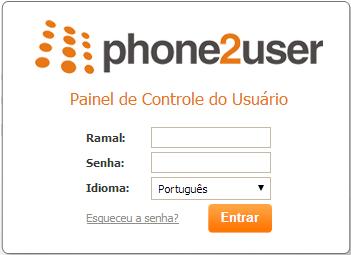 Painel de Controle do Usuário - Autenticação