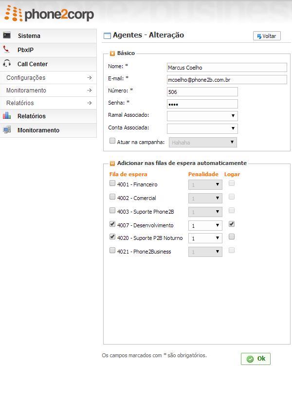 callcenter-configuracoes-agente
